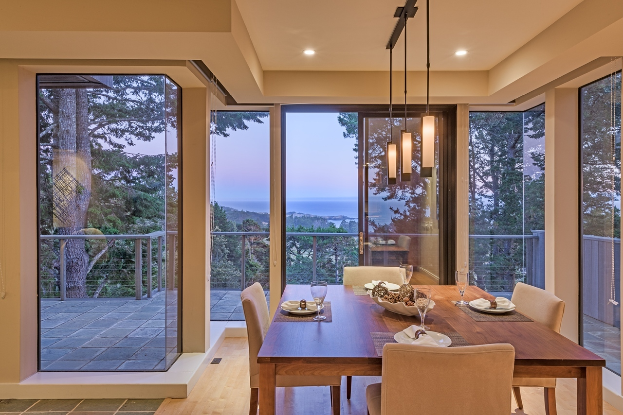 Dining Room at Twilight