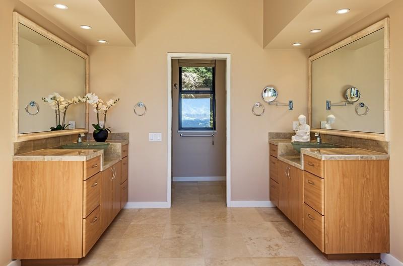 Dual Sinks in Master Bathroom