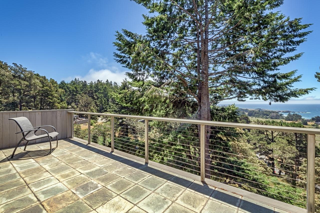 Big Deck with Ocean Views off Master Bedroom