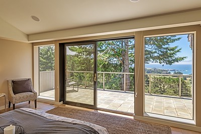 Master Bedroom with White Water Views of Black Point
