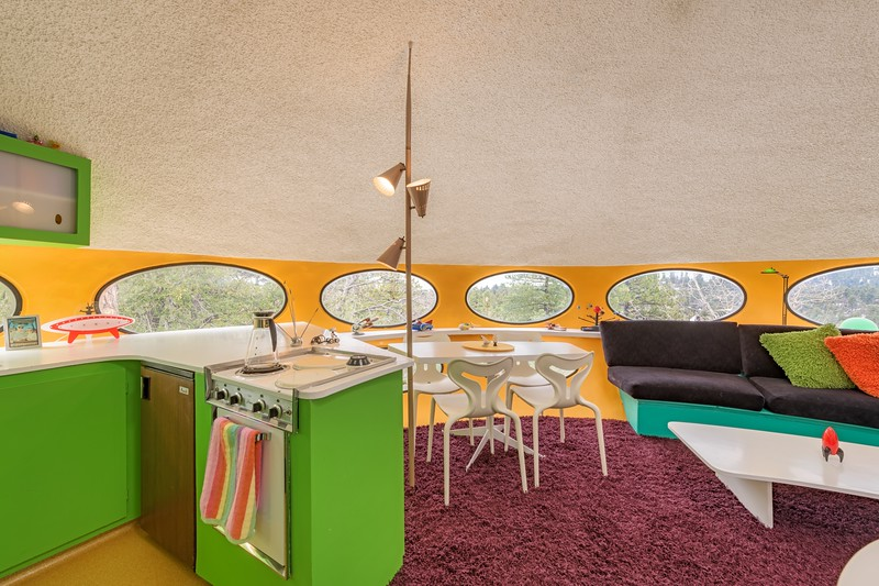 Living Room & Kitchen in the Futuro