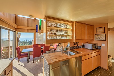 Ocean Views from Kitchen
