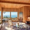 Living Room with Birds Eye View of Ocean