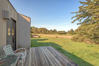 Back Deck with View of Golf Course