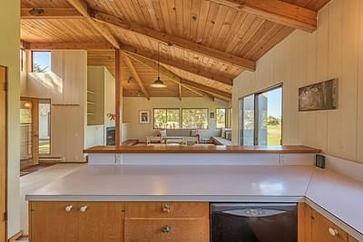 Kitchen Looking Towards Living Room