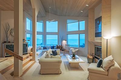 Living Room at Twilight