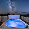 Star Gazing from the Hot Tub