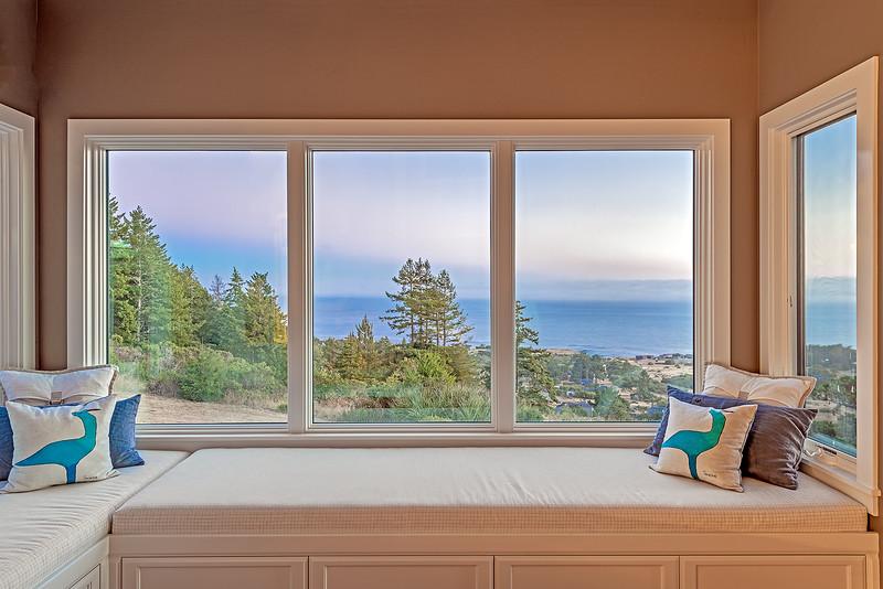 Window Seat at Sunset