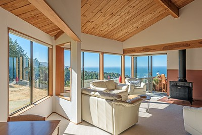 Living Room with Panoramic Views