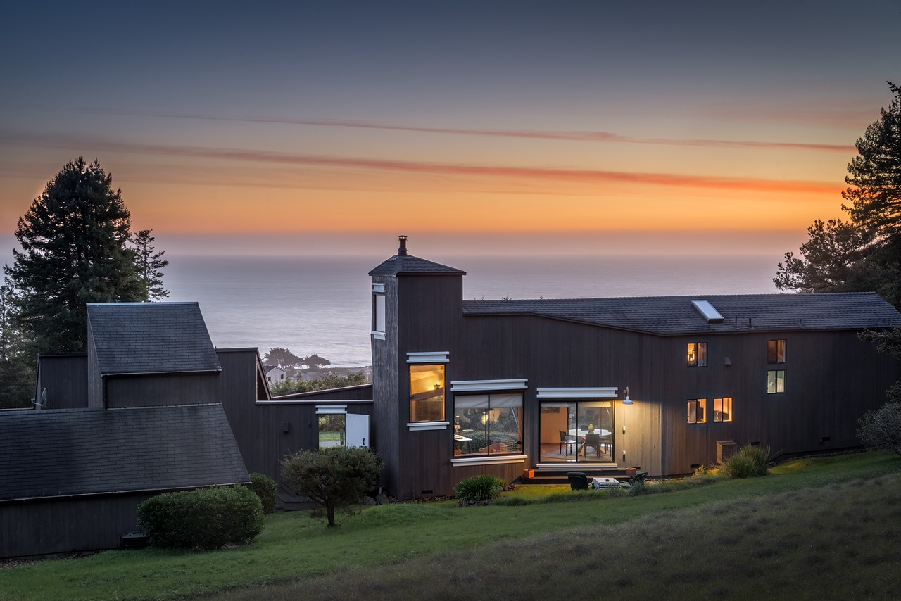 Back of House at Twilight & Ocean View