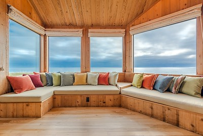 Living Room with Panoranic Ocean Views