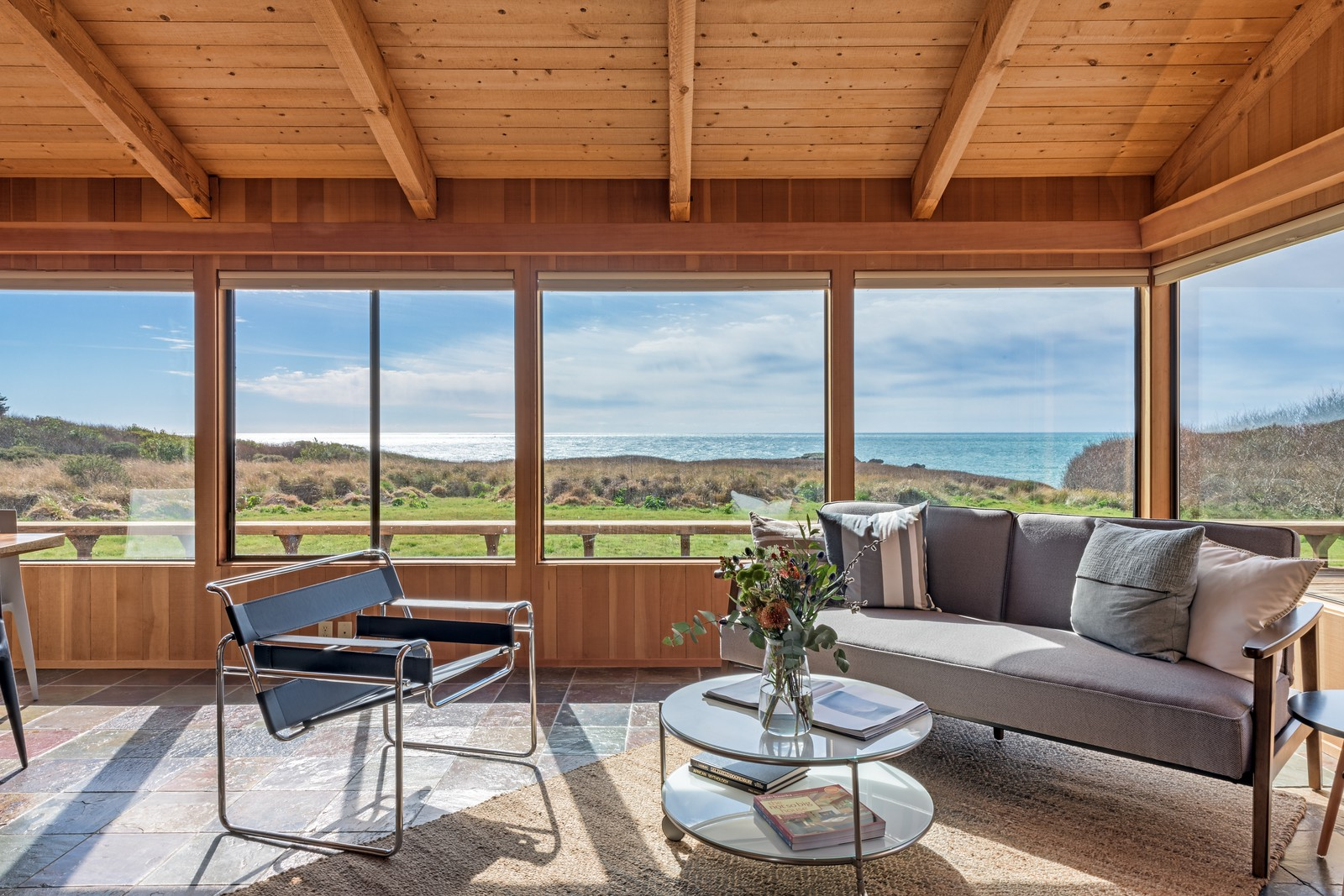 Living Room with Ocean Views above Shell Beach