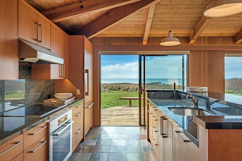 Kitchen View & Back Deck Access