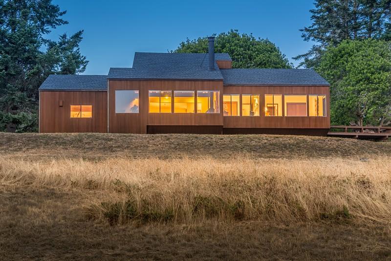 Sea Ridge House at Twilight