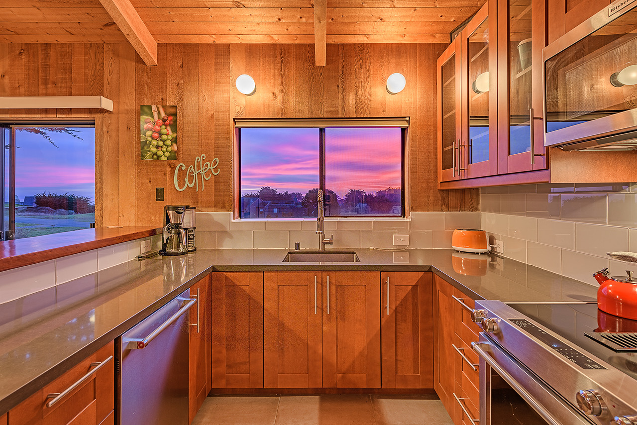 Sunset in the Kitchen