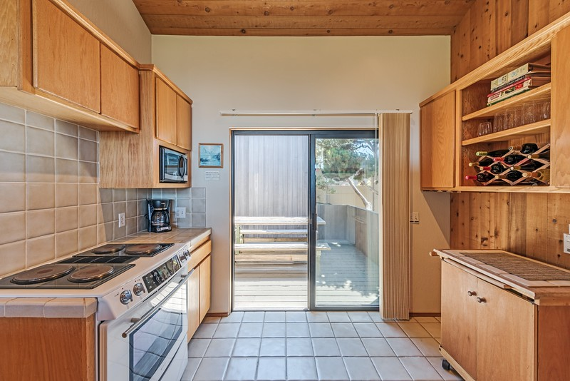 Kitchen & Entry to Front Deck