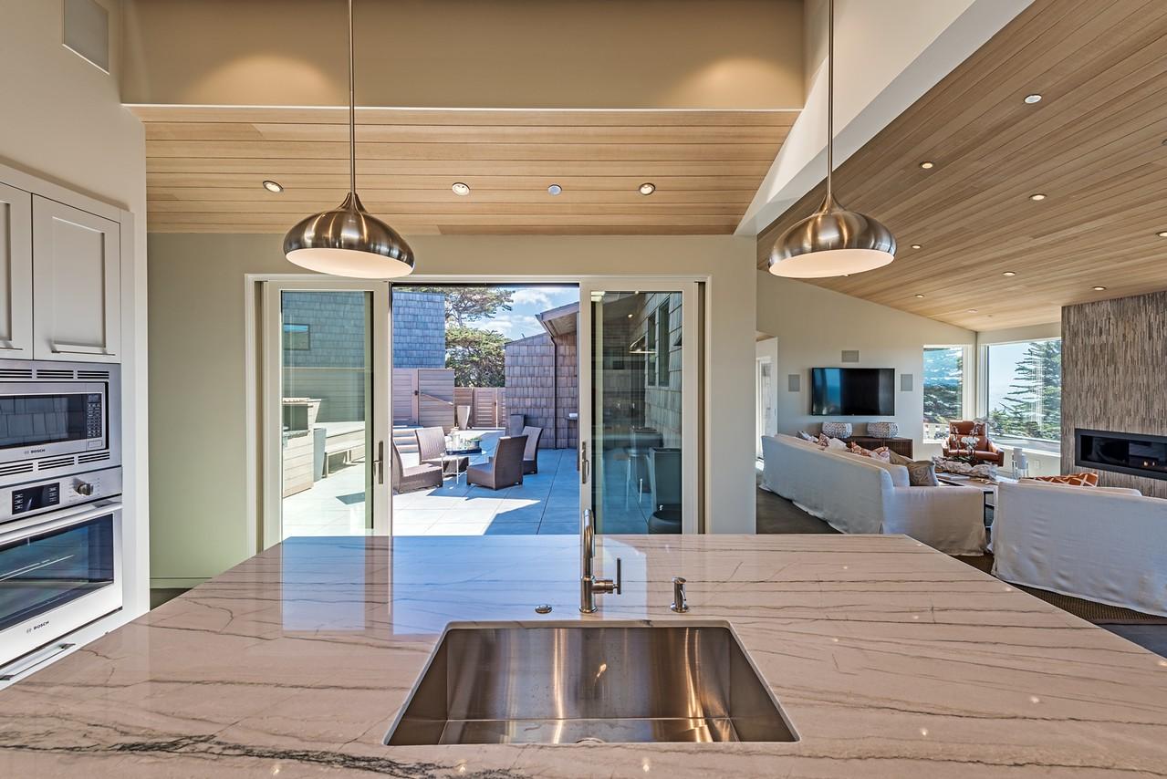 Kitchen & Entry to Patio