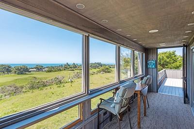 Enclosed Deck, North View
