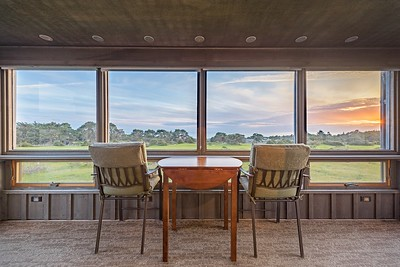 Enclosed Back Deck with Sunset Ocean Views