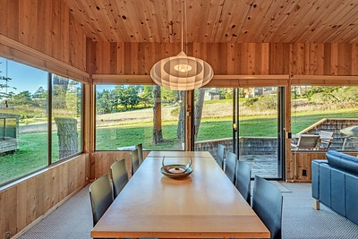 Dining Area with Meadow View