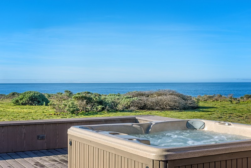 Ocean View From Hot Tub