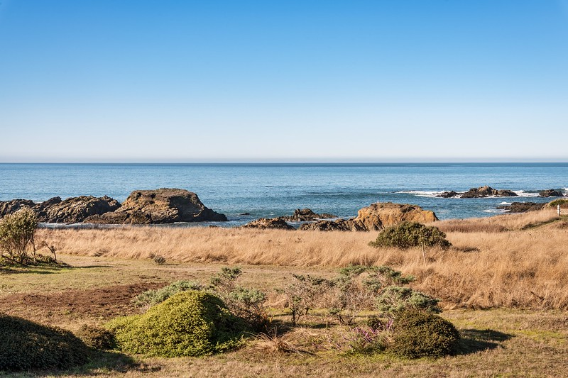 Telephoto View of Shell Beach from Deck