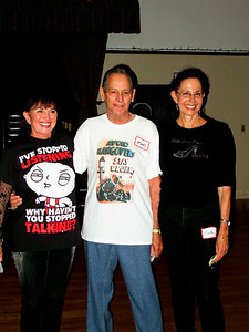 We are the Champions! Sandra, Monte & Anita Photo by Bob Burns