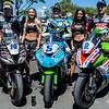 Dean Harrison Peter Hickman James Hillier Supersport TT Race Isle of Man
