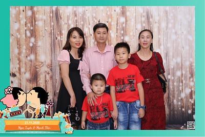 Ngọc Tuyền & Mạnh Thìn wedding instant print photo booth @ Capella Parkview Wedding & Convention   Chụp hình in ảnh lấy liền Tiệc cưới tại TP Hồ Chí Minh    Photo Booth Vietnam