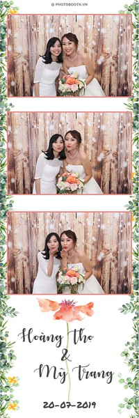 Hoang Tho & My Trang Wedding @ Riverside Palace - instant print photobooth for wedding - in hình lấy liền Tiệc cưới - Photobooth Saigon