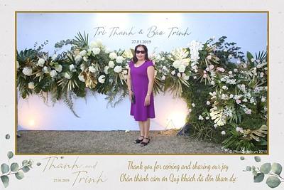 Thanh & Trinh wedding instant print photobooth in Tan Cang - Saigon   Chụp ảnh in hình lấy liền Tiệc cưới tại Tân Cảng TP. HCM