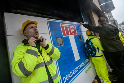 Bloqueo del TTIP en Bruselas