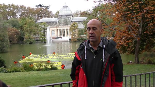 Vídeo declaraciones de Miguel Ángel Soto, portavoz de la campaña