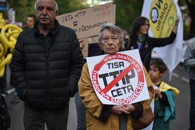 Manifestación 15 Oct. contra los tratados y la pobreza