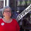 Cuca Hernández, portavoz de la plataforma No al TTIP