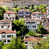 Safranbolu town. .  Former   names of the town  were Greek Theodoroupolis, Θεοδωρούπολις (i.e. city of Theodorus or female Theodora) and latter Saframpolis Σαφράμπολις. The name derives from 'saffron' and the Greek word 'polis' (city), since Safranbolu was a trading place and a center for growing saffron. Today a Unesco World Heritage site.