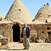 Owner of a traditional bee house - Harran.