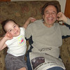 How cute is this??  Grampie and Gracie were fast friends...