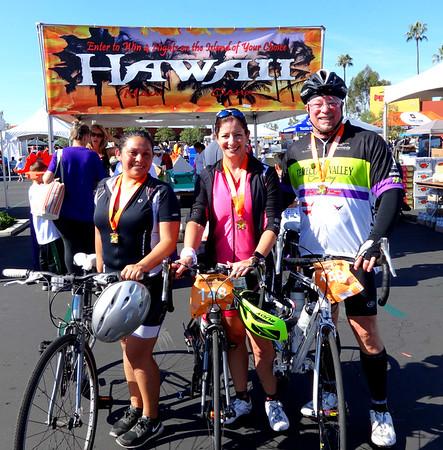 TUSD Dinosaur Dash 50K Charity Bike Ride, Tustin CA November 6, 2016