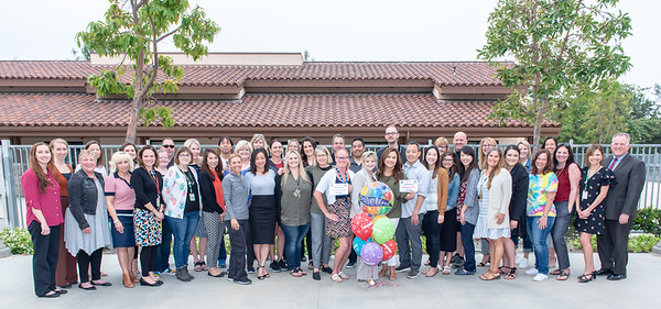 Orchard Hills Distinguished School Surprise Visit