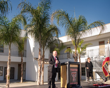 Tustin High Ribbon Cutting