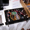 cheap power amp at Techanoligx table