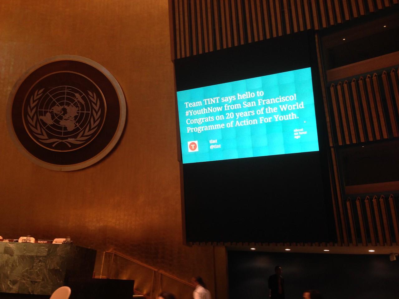 TINT at the UN