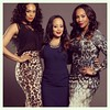 Demetria McKinney  just shot a great sitcom pilot with these beautiful actresses, Essence Atkins and Vivica A. Fox.