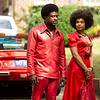 Sinqua Walls as Don Cornelius and Demetria McKinney as June Pointer<br /> American Soul