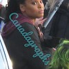 Demetria McKinney on set of Motherland: Fort Salem Episode 3