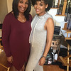 "DeEtta West and Demetria McKinney on set of ""Saints and Sinners"" - October 17, 2016"