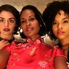 Tatiana Zappardino, Robinne Lee and  Demetria McKinney - October 25, 2017