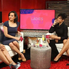 Demetria McKinney, Janell Snowden and Angela Yee on The Ladies Room - Centric TV - Talk Show 2016