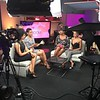 Demetria McKinney, Toccara Jones and Janell Snowden on set of The Ladies Room - July 11, 2016